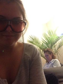 Emily, selfie