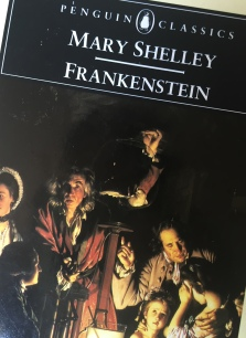Frankenstein, teaching literature, teaching, first year teacher, college professor, screenwriting